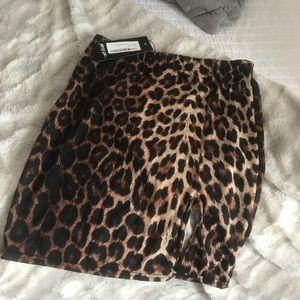 Nasty Gal new w/ Tags Cheetah Skirt